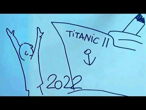 Мальчик собирает деньги, чтобы купить билет на TITANIC 2
