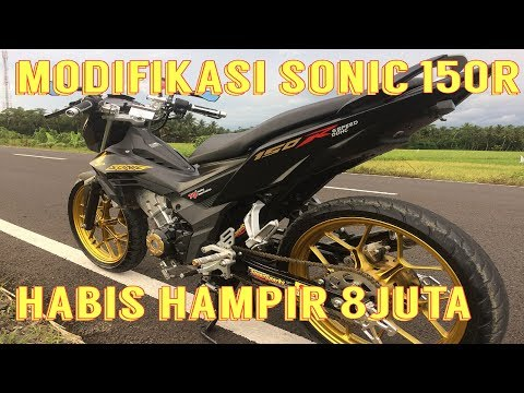 Modifikasi 7 JUTAAN Sonic 150R