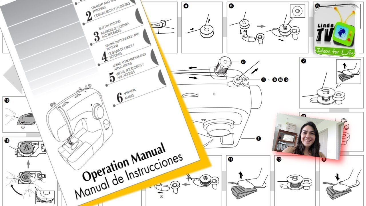 Manuales M U00e1quina De Coser Brother Xl2600  2600i  26101