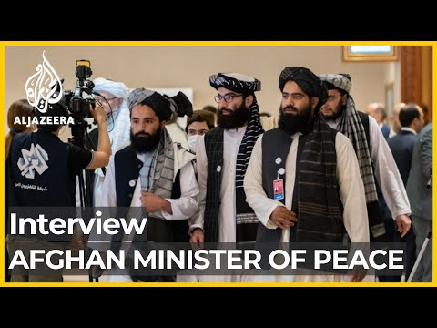 Interview with Sadat Mansoor Naderi, Minister of Peace   al Jazeera Exclusive