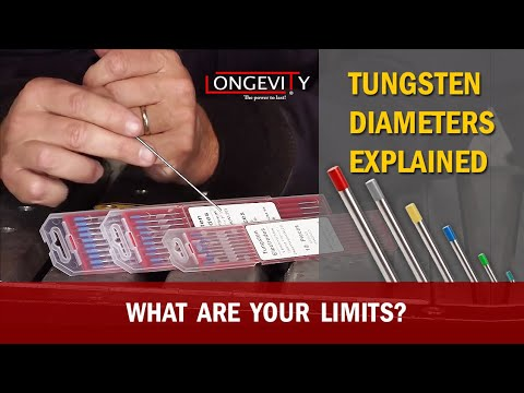 Tig Tungsten Diameters What Are Your Limits Tips And Tricks Youtube