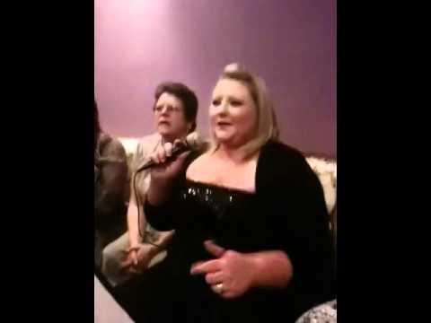 Home bargains Xmas karaoke night