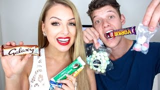 AUSTRALIANS TRY BRITISH CANDY!!!