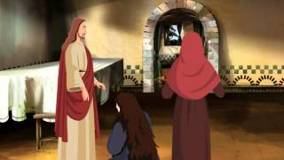 Bible stories for kids  - Jesus Christ Raises Lazarus from the Dead ( English Cartoon Animation )