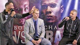 James DeGale vs. Chris Eubank Jr FINAL PRESS CONFERENCE | ITV Box Office
