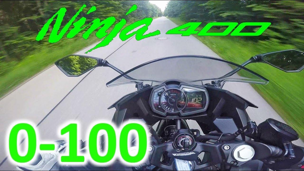 Kawasaki Ninja 400 Acceleration 0 100kmh
