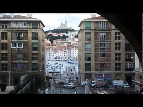 مدينة مرسيليا فرنسا. Marseilles,city France