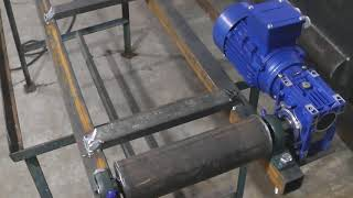 Транспортер своими сделать руками шнекового транспортера для бетона