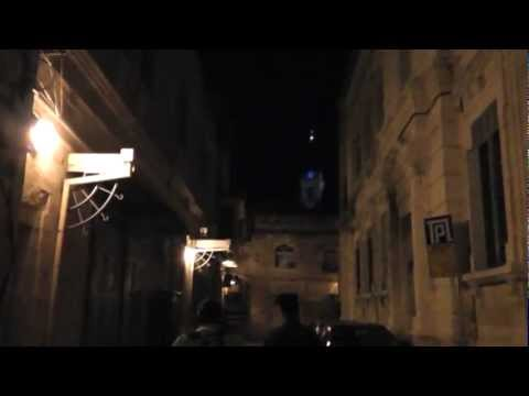 The Patriarchate of Jerusalem at night