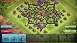 Clash Of Clans Town Hall 8 ! (TH8) War Base + Defense 2016 New Update !