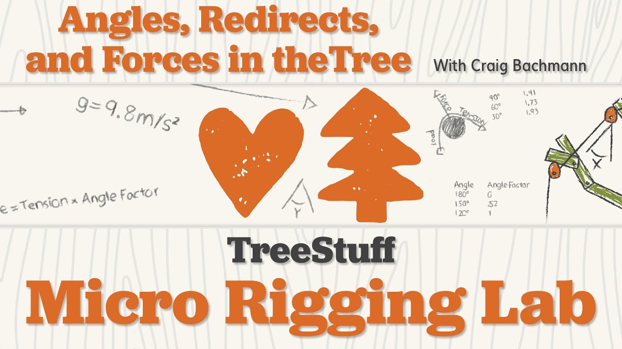 Angles, Redirects & Forces in the Tree: TreeStuff Micro Rigging Lab