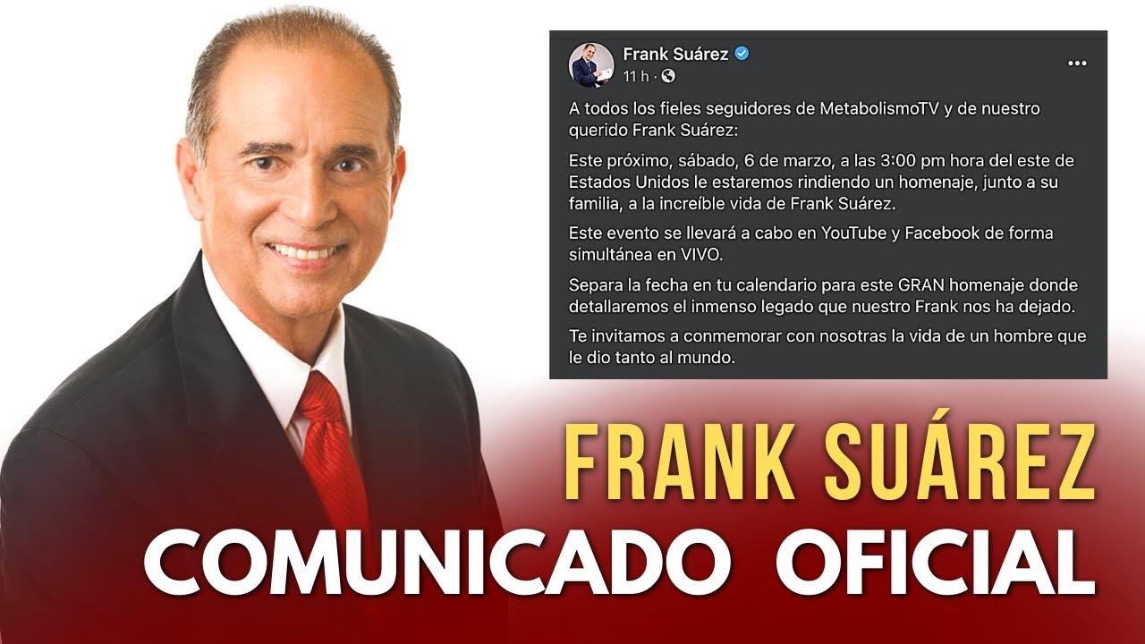 Familia de FRANK SUÁREZ critica falsas informaciones (Comunicado)