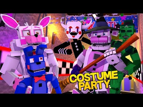 Minecraft Fnaf: Sister Location - Costume Contest Gone Wrong (Minecraft Roleplay)