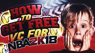NEW HOW TO GET FREE VC FOR 2K18 EARLY!!UNLIMITED VC CHEAT!MUST WATCH