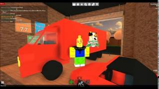 Roblox Work At a Pizza Place: How to get the truck inside the Resturant!