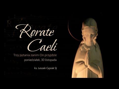 #RorateCaeli - poniedziałek, 30 listopada