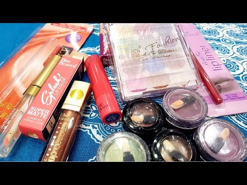 Affordable Products    Blue Heaven Make up Haul Video    Best Products