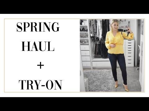 SPRING HAUL 2019 + TRY ON
