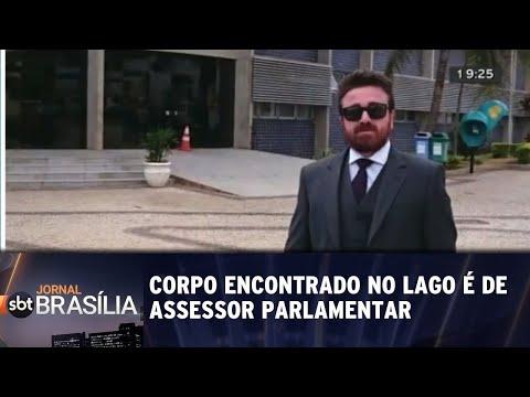 Corpo encontrado no lago é de assessor parlamentar | Jornal SBT Brasília 21/08/2018