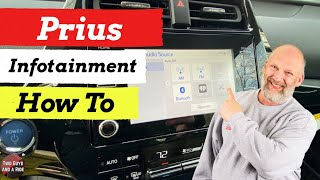 Infotainment How To - Toyota Prius 2020 XLE AWDe