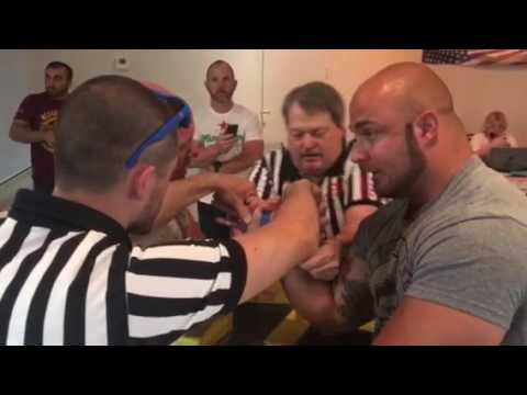 Scot Mendelson Beats Chris Chandler 2017 Nevada State Armwrestling Championships