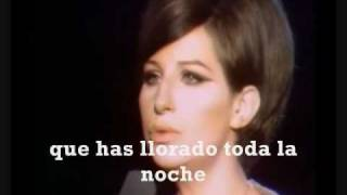Barbra Streisand Cry Me A River Subtitulos En Español