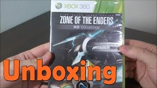 Zone Of The Enders HD Collection  - Xbox 360 - UNBOXING