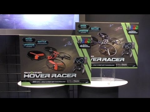 Sky Viper Hover Racer, Drone Racing from SkyRocket Toys. First Look Toy Fair 2016
