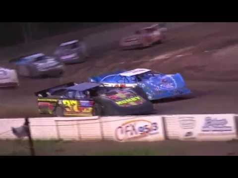 Late Model heat 1 at Mount Pleasant Speedway on 6-26-15