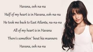 Lirik lagu havana