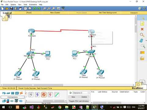 Cisco VoIP Configure Local and Remote IP Phone