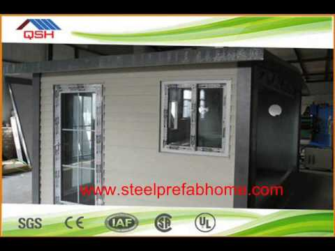 Own Branding Manufactured Steel Frame Prefabricated House Philippines