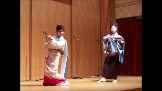 NTT北陸民謡民舞サークル45周年記念発表会の模様.