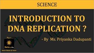 DNA Replication Lecture, BSc MSc Zoology  by Dr.Priyanka Dadupanthi, Biyani Girls colleges.