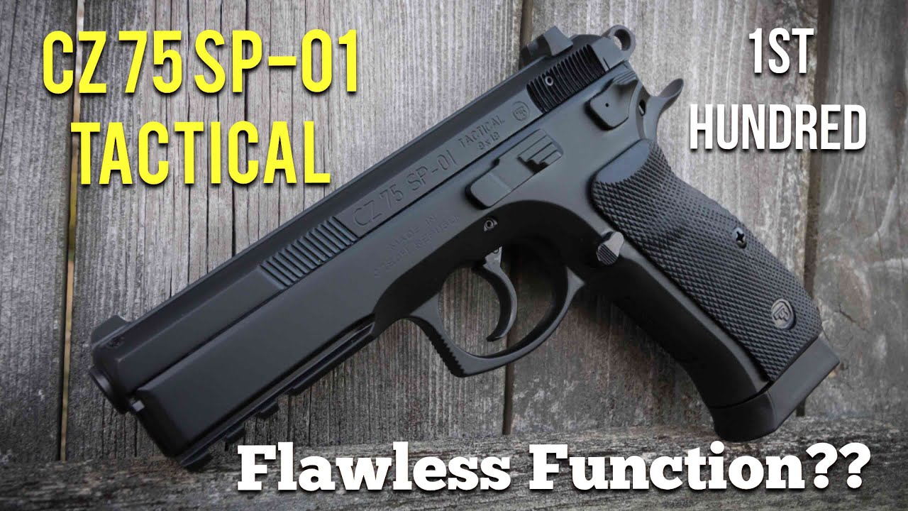 1st Hundred - CZ75 SP-01 Tactical | Flawless Function??