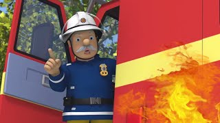 Oh No! Save the Fire Engine!  | Fireman Sam US ⭐️ Fire Rescue 🔥 Best Rescue Compilation | Cartoons