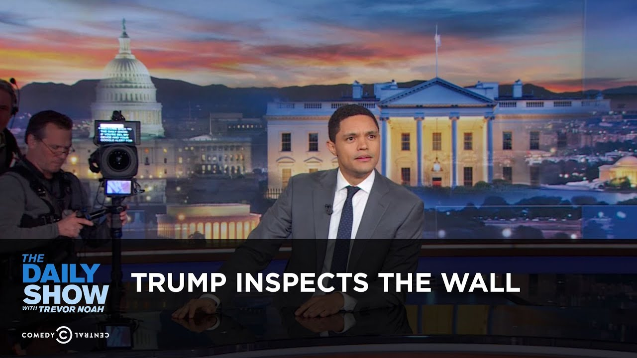 trump-inspects-the-wall-between-the-scenes-the-daily-show