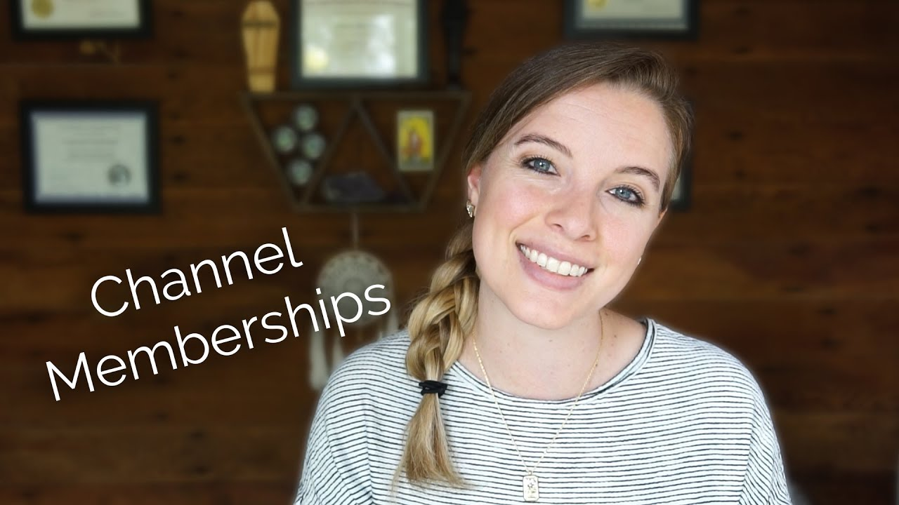 YouTube Memberships Now Live!