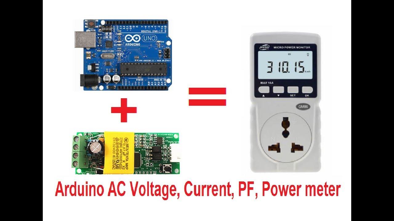 Arduino 220v Ac Power Meter Using Pzem 004t Youtube Monitor