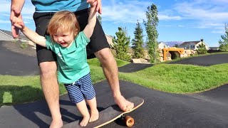 NiKO SHREDS!!  visiting Baby Spirit the Horse, Bear learning to ride, a family beach day, and more!