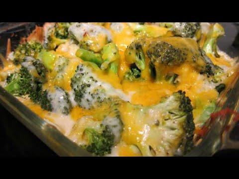 🥦My FAMOUS Cheesy Broccoli Casserole | Cooking W/ Ashley