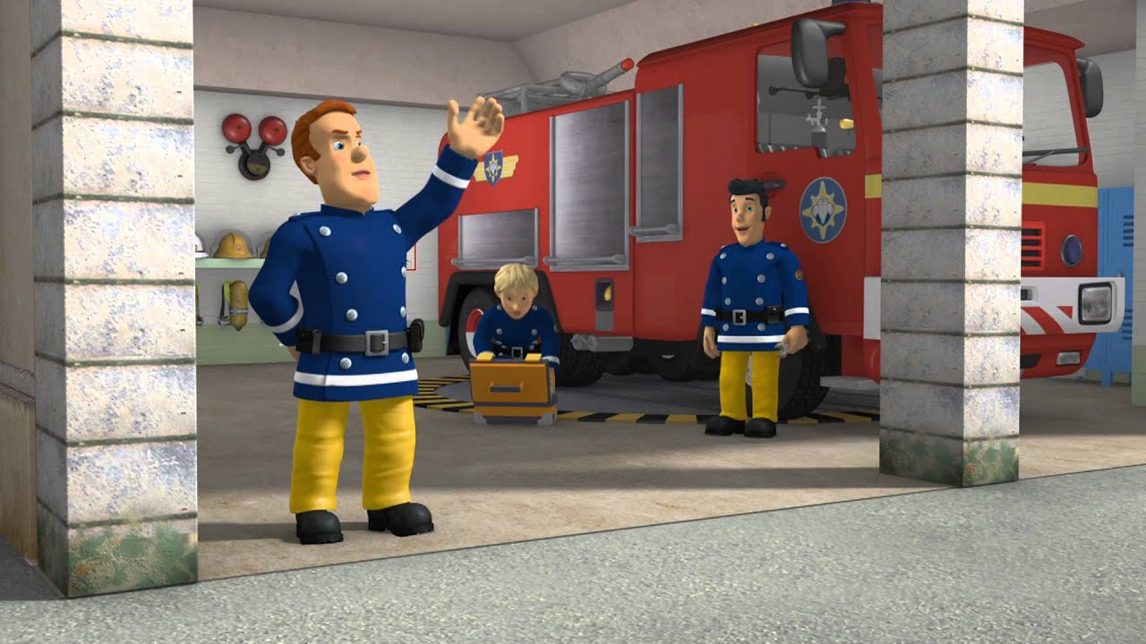 This is a graphic of Impeccable Fireman Sam Pic