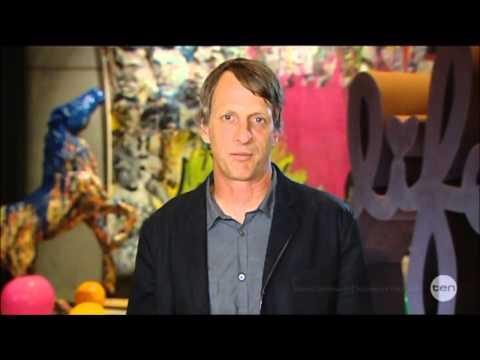 Tony Hawk's TOUGHEST Trick EVER Australian Tv Interview 22 5 2014