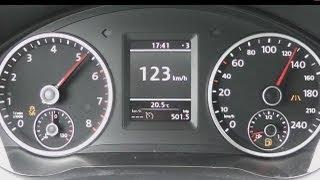 2013 Volkswagen Tiguan 1.4 TSI 160 HP 0-100 km/h Acceleration