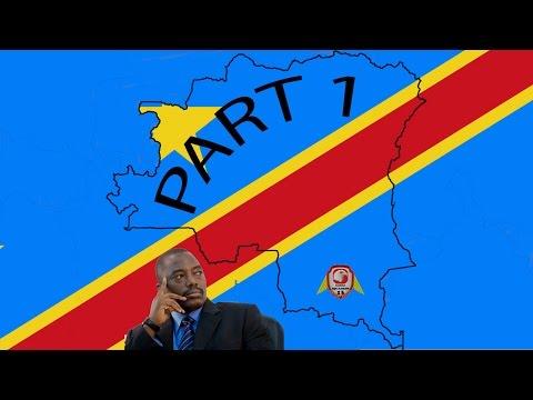 Hearts Of Iron 4: Democratic Republic of Congo Part 1 Modern Day mod [HD]