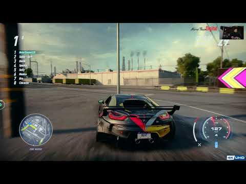 4k HDR #05 Need for Speed™ Heat Deluxe Edition - Ultimate Edition Upgrade  - Palm City Raceway |