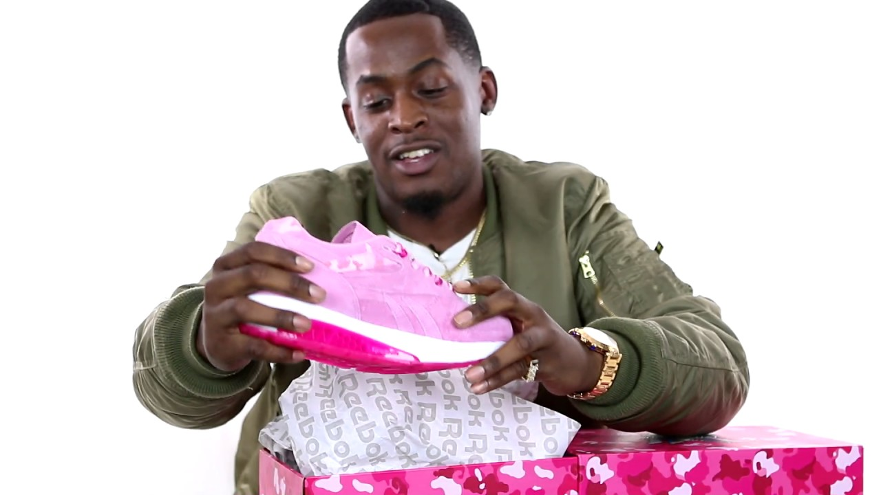 "1f3ee2a818108a Cam ron Reebok Ventilator Supreme ""Fleebok 2"" Unboxing by June James -  YouTube"