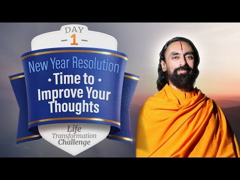 New Year Resolution - It's Time to Improve your Thoughts | Life Transformation Challenge Day 1