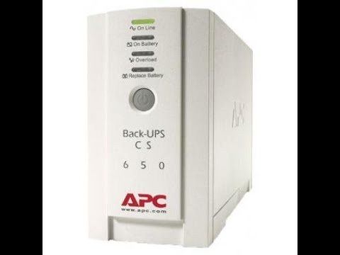 APC Back-UPS CS 650VA (BK650EI)