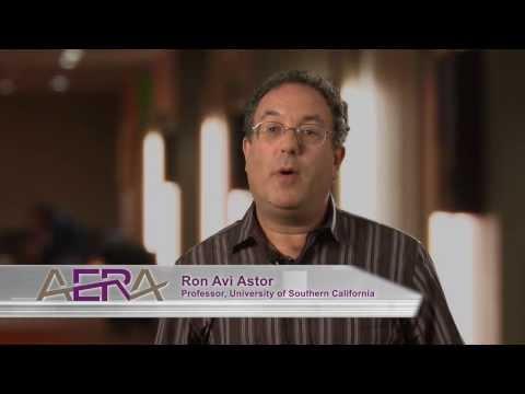 Ron Avi Astor Discusses AERA's New Report on the Prevention of Bullying